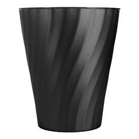 """Copo de Plastico PP """"X-Table"""" Preto 320ml (8 Unidades)"""