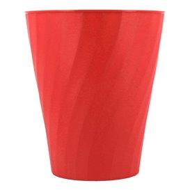 """Copo de Plastico PP """"X-Table"""" Vermelho 320ml (8 Unidades)"""