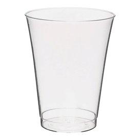 Copo Plastico PS Injetado Transparente 200ml (25 Uds)