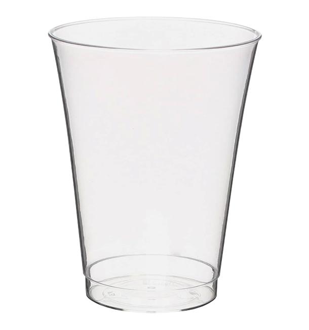 Copo Plastico PS Injetado Transparente 330ml (25 Uds)