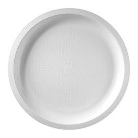 Prato de Plastico Branco Round PP Ø290mm (25 Uds)