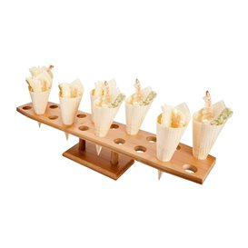 Stand de Bambu para 20 Cones (1 Ud)