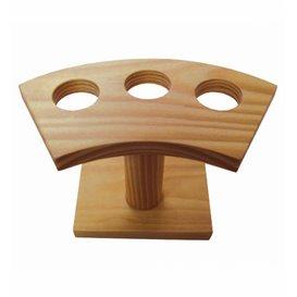 Stand de Bambu para 3 Cones (1 Ud)