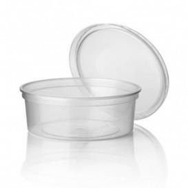 Embalagem Plastico Redondo Transp. 350ml Ø11,5cm (50 Uds)