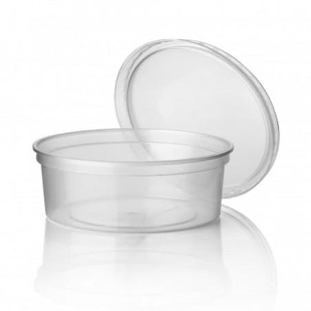 Embalagens  Redondo PP Transparente 350ml (50 Unidades)