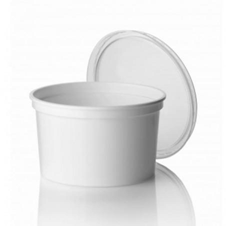 Taça Plastico Redonda Branca 500ml (1000 Uds)