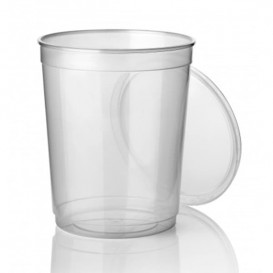 Terrina Transparente PP 1.000 ml (Paquete 50 unidades)