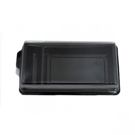 Envase para Sushi Negro 148x78mm (10 Uds)