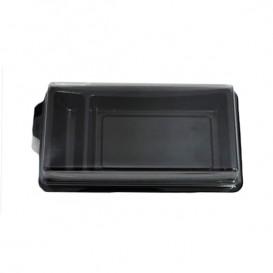 Embalagem para Sushi Preto 148x78mm (1200 Uds)