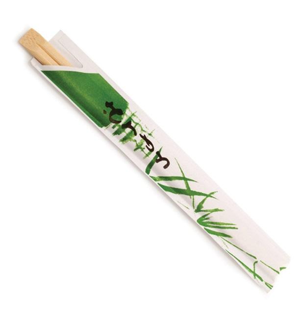 Pauzinhos em Bambu Individuais 200mm (3000 Uds)