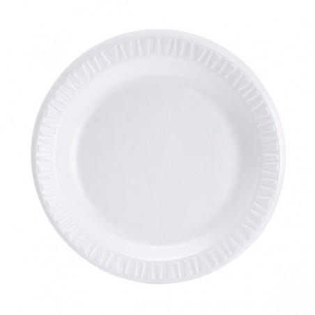 Prato Isopor Branco 230 mm (125 Unidades)