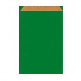 Saco de Papel Kraft Verde 12+5x18 cm (1500 Unidades)