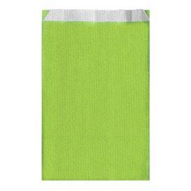 Saco de Papel Verde Anis 12+5x18 cm (1500 Unidades)