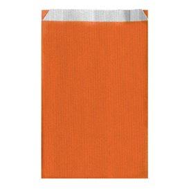 Saco de Papel Laranja 26+9x46cm (125 Unidades)