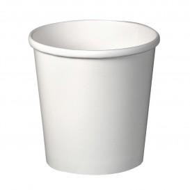 Taça de Cartão Branco 16Oz/473ml Ø9,8cm (500 Uds)
