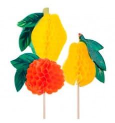 Palitos de Festa Fruta 10cm (100 Uds)