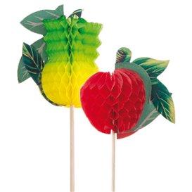 Palitos de Festa Fruta 20cm (100 Uds)