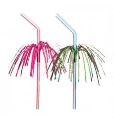 Palhinha Flexíveis para Bebidas Palmeira Ø 5 mm 23 cm (100 Uds)