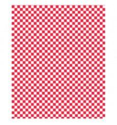 Papel Anti-Gordura Vermelho 28x33 cm (1000 Unidades)