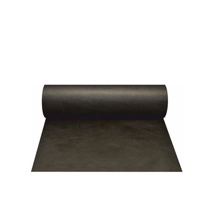 Toalha em Rolo Não Tecido 0,4x48m 50g Preto (6 Ud)