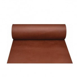 Toalha em Rolo Não Tecido 0,4x48m 50g Marrom (1 Ud)