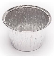 Embalagem Aluminio Pudim ou Flan 127 ml (100 Unidades)