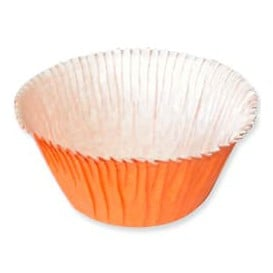 Cápsula Cupcake Laranja 4,9x3,8x7,5cm (500 Unidades)