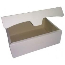 Caixa Pastelaria Branca 18,2x13,6x5,2cm 500g (25 Uds)