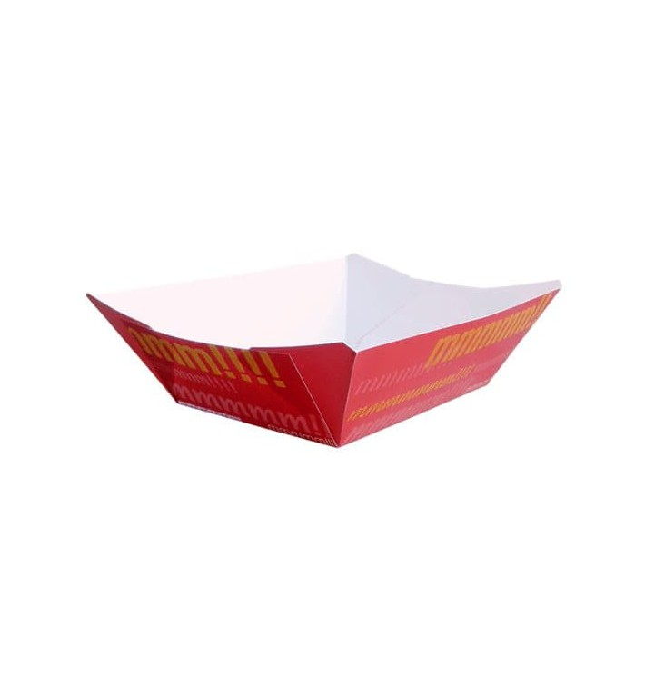 Barqueta Cartolina 12,1x8,1x5,5cm 525ml (25 Uds)