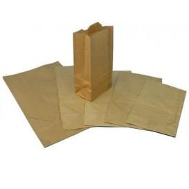 Saco de Papel Sem Asas Kraft 25+15x43cm (250 Uds)