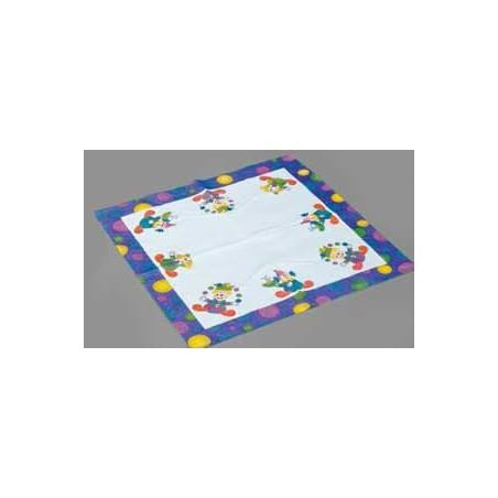 Servilleta de Papel 33x33 Diseño Payasos (Cajas 500 unidades)