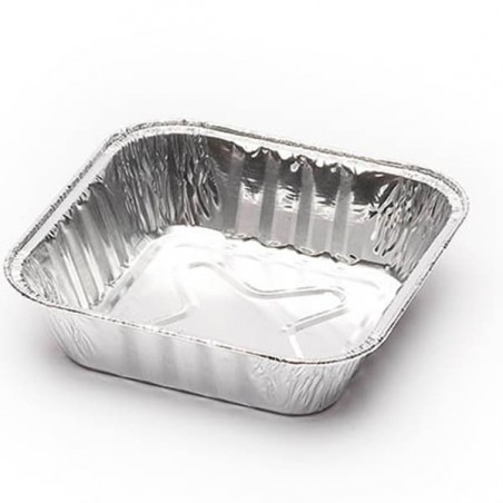 Forma Aluminio Lasanha 365ml (100 Unidades)