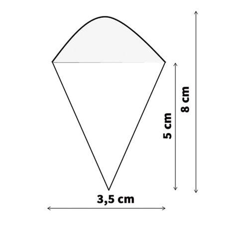 Cone de Bambú 80mm (50 Uds)