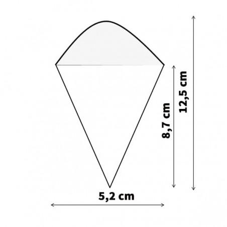 Cone de Bambú 125mm (1.000 Uds)