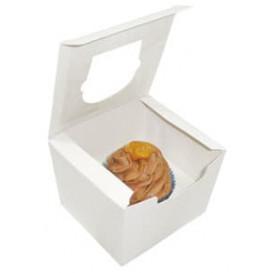 Caixa 1 Cupcake Branco 11x10x7,5cm (200 Unidades)