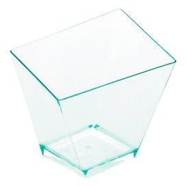 "Copo Degustação Irregular ""Water Green"" 5,6x5,6cm (12 uds)"