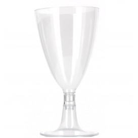 Copo Cristal Agua/Vinho PS 140 ml Acrilico 2P (100 Uds)