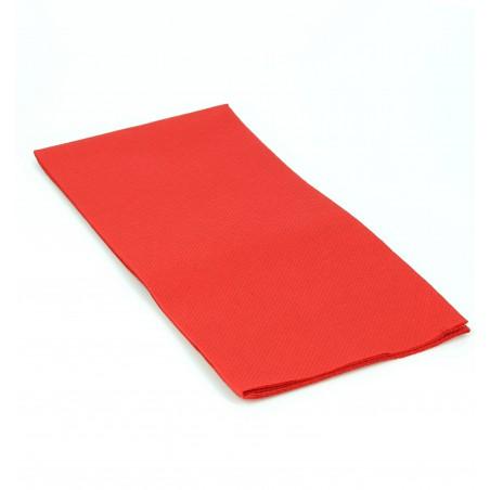Guardanapos Papel 1/8 40x40cm Vermelho (50 Unidades)
