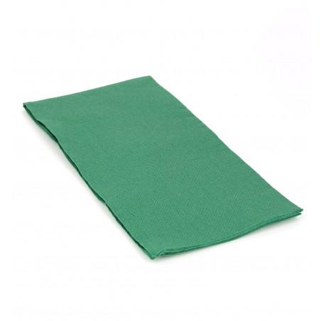 Guardanapos Papel 1/8 40x40cm Verde Escuro (1.200 Uds)