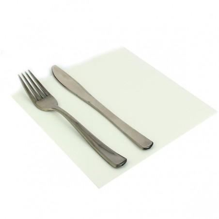 Guardanapos de Papel 40x40cm Branco (50 Uds)