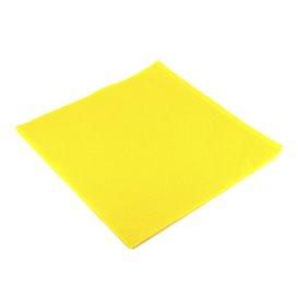 Guardanapos de Papel 40x40cm Amarelo (1.200 Uds)