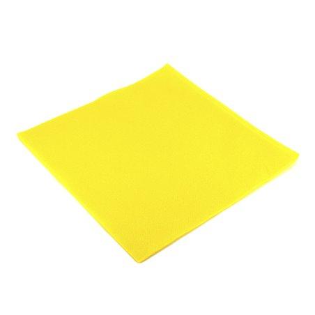 Guardanapos de Papel 40x40cm Amarelo (1.200 Unidades)