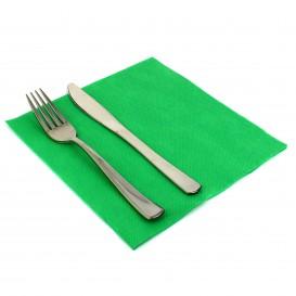 Guardanapos de Papel 40x40cm Verde Claro (50 Uds)