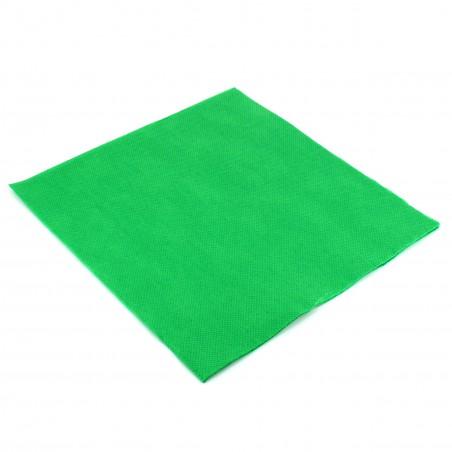 Guardanapos de Papel 40x40cm Verde Claro (1.200 Uds)