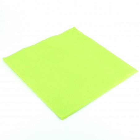Guardanapos de Papel 40x40cm Verde Lima (1.200 Uds)