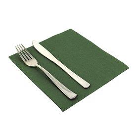 Guardanapos de Papel 40x40cm Verde Escuro (1.200 Uds)