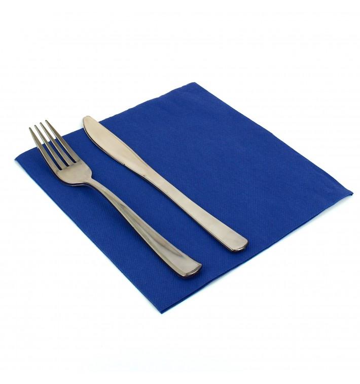 Guardanapos de Papel 40x40cm Azul (50 Unidades)