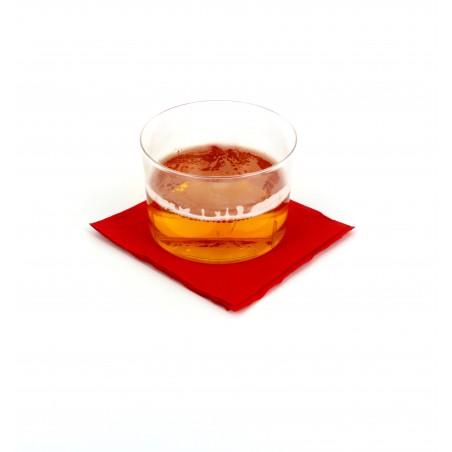 Guardanapos Papel Cocktail Vermelho 20x20cm (3.000 Uds)