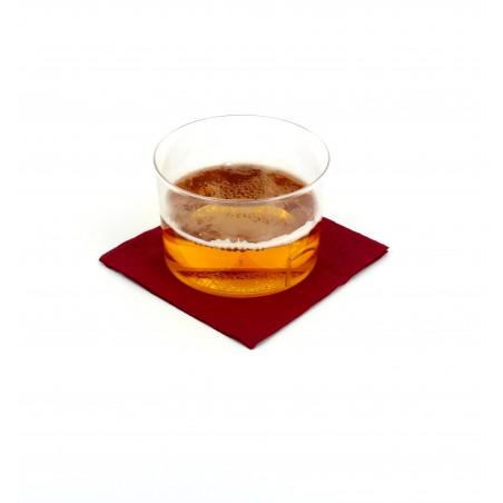 Guardanapos Papel Cocktail Bordeaux 20x20cm (3000 Unidades)