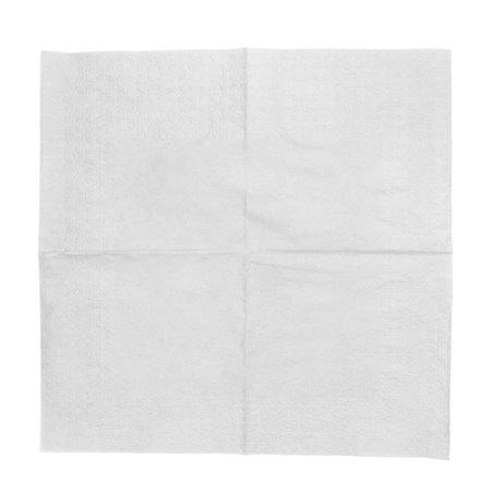 Guardanapos Papel Cocktail Branco 20x20cm (6000 Uds)